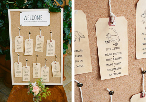 wedding reception stationery ideas - seating plansLucy Says I Do