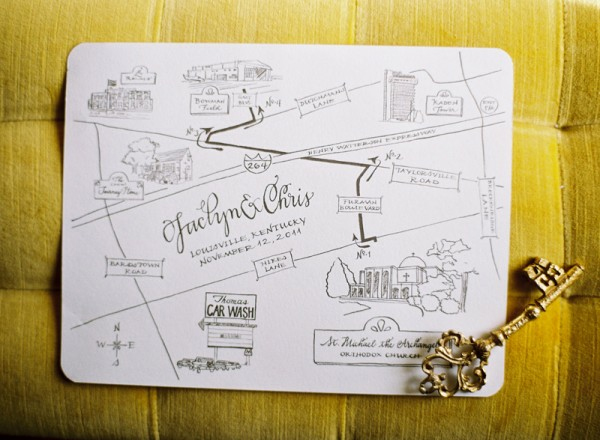 Wedding stationery ideas - Wedding invitation maps