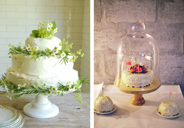 Wedding cake ideas - homemade cakes