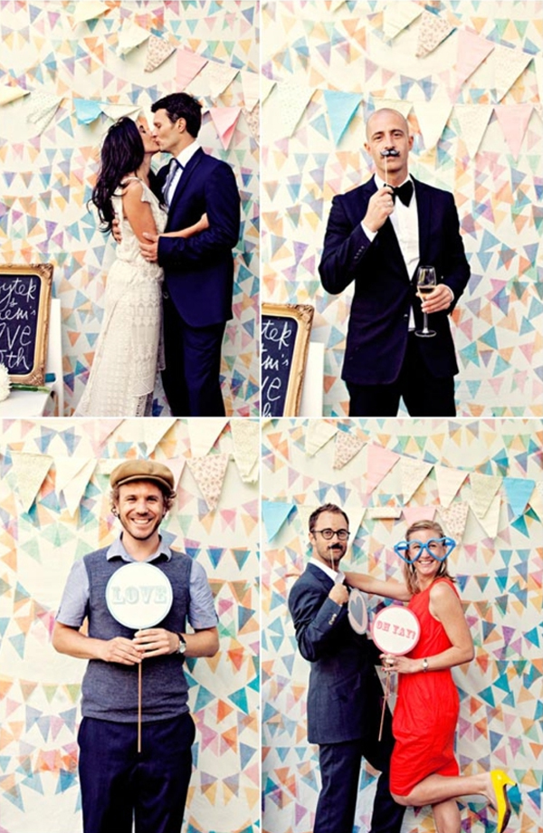 wedding ideas photobooth fun