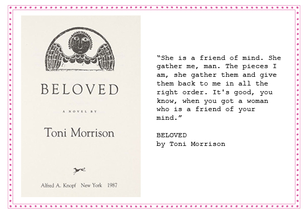 an analysis of the novel beloved by toni morrison ''beloved'' is toni morrison's fifth novel, and another triumph indeed, ms morrison's versatility and technical and emotional range appear to know no bounds if there were any doubts about her stature as a pre-eminent american novelist, of her own or any other generation, ''beloved'' will put them to rest in three words or less, it's a.