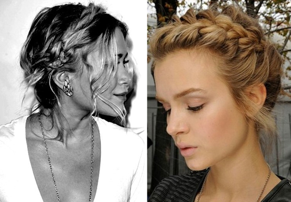 wedding hair ideas braids plaits