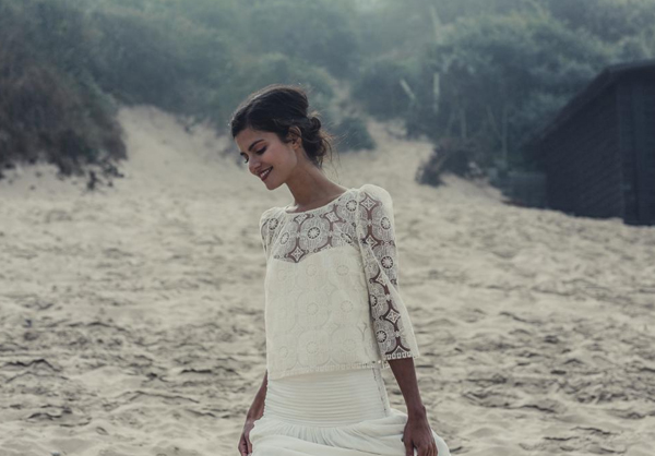 laure de sagazan 2014 wedding dresses2 - flowing wedding dresses beach