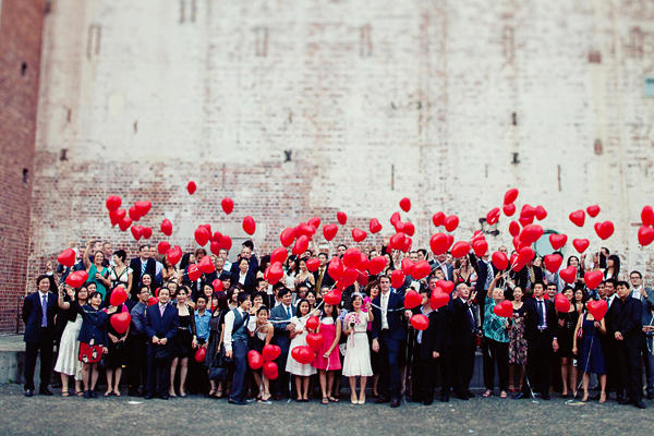 weddings with balloons ideas large family portrait lucysaysido