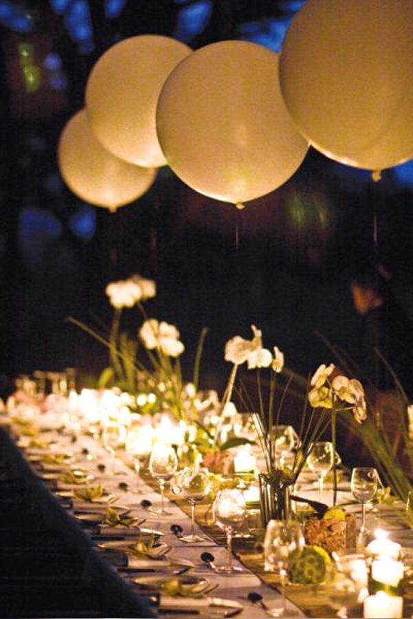 Everything s better with balloons lucy says i do for Ballon wedding decoration