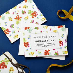 Lucy says I do save the date_ditsy