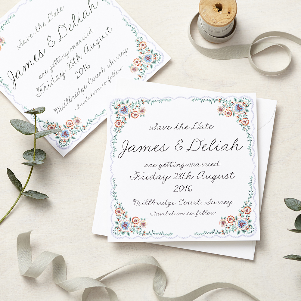 Lucy says I do save the date_english summer garden
