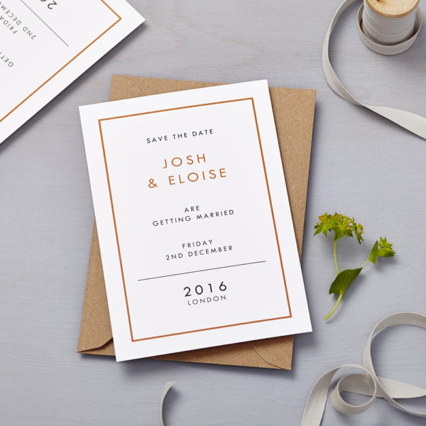 Lucy says I do save the date_retro school burnt orange