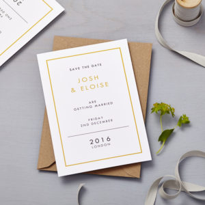 Lucy says I do save the date_retro school mustard