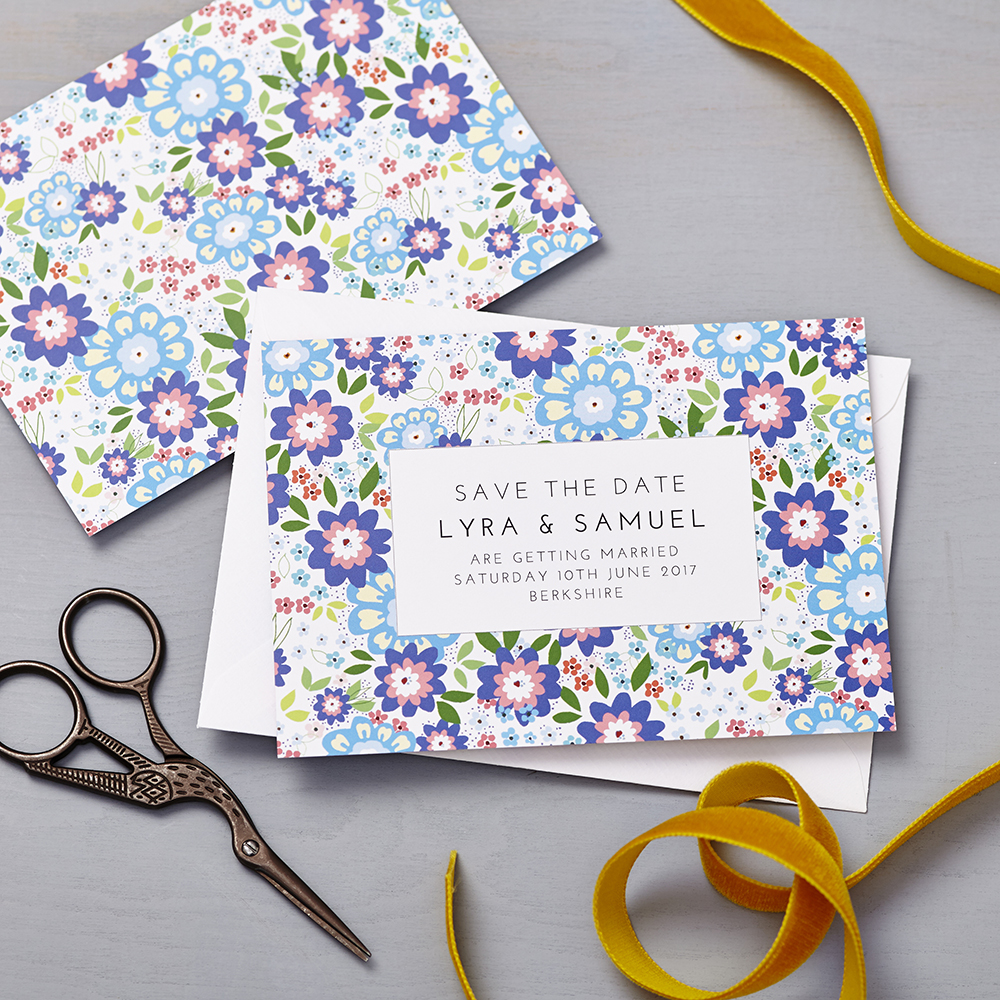 Lucy says I do save the date_ruby shades of blue
