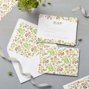 Lucy says I do wedding RSVP danish multi