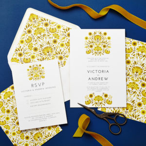 Lucy says I do wedding invitation_LATF late summer