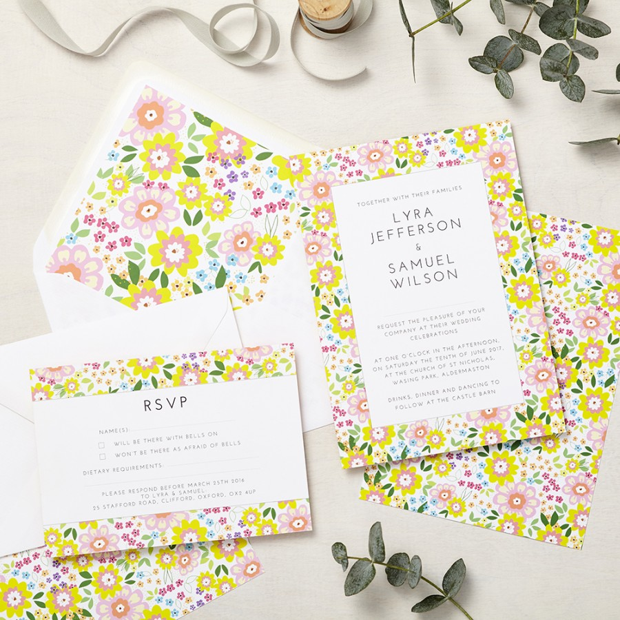 Ruby Summer Invitation | Lucy Says I Do