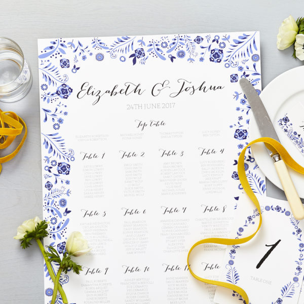 Lucy says I do danish porcelain blue wedding seating plan015