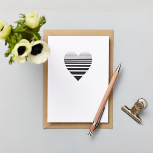 Lucy says I do greetings cards_love card_small heart ombre