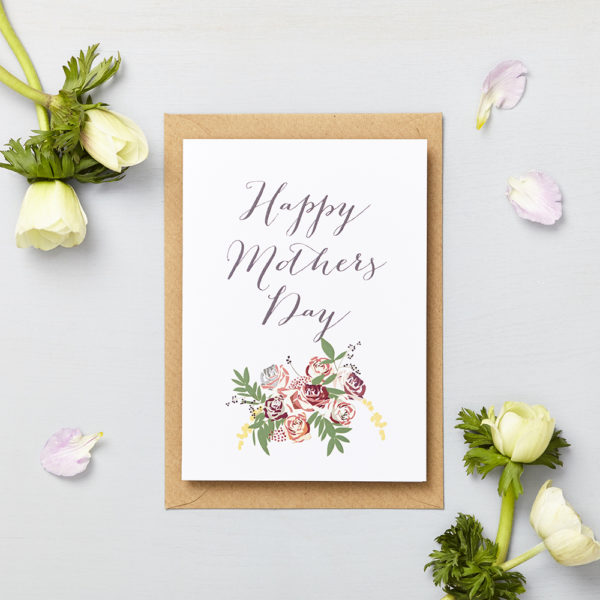 Lucy says I do greetings cards_mothers day small bouquet