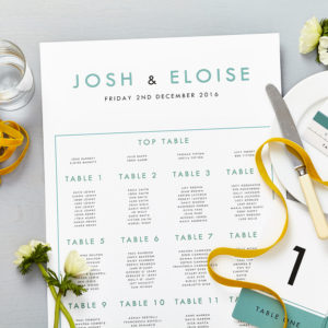 Lucy says I do retro school seafoam blue wedding seating plan012