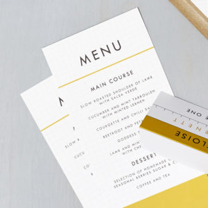 Lucy says I do wedding stationery menu013