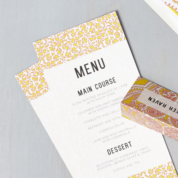 Lucy says I do wedding stationery menu016