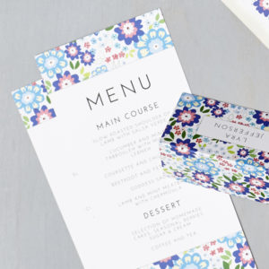Lucy says I do wedding stationery menu025