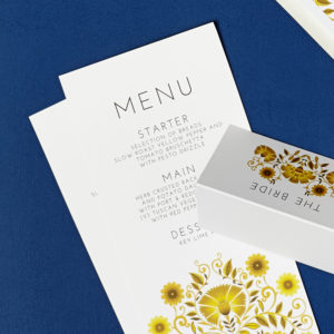 Lucy says I do wedding stationery menu027
