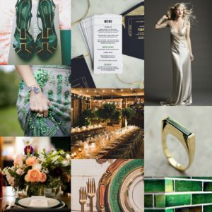 lucy says I do cinema wedding stationery collection inspiration board