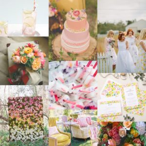 Lucy says I do Ruby collection inspiration board