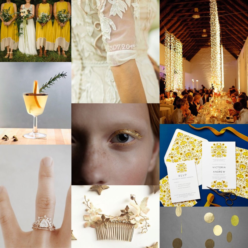 Love amongst the flowers late summer collection moodboard