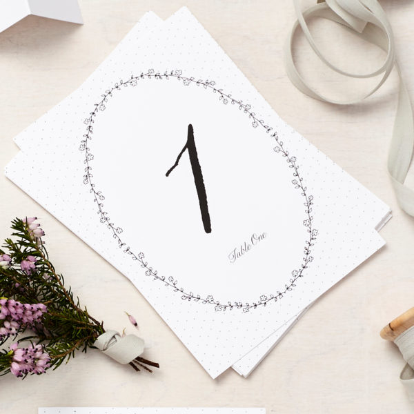Lucy says I do daisy chain table number