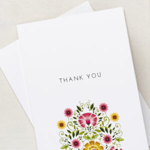 Lucy says I do stationery thank you cards LATF signature