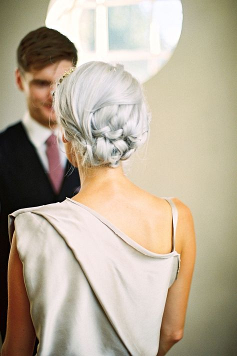 wedding hair braids plaits