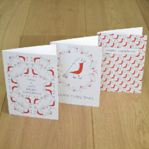 LSID Christmas robin charity christmas cards