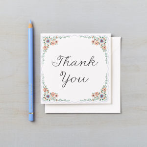 LSID greetings card english summer garden thank you card 2