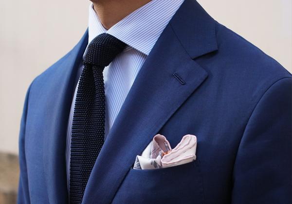 Mens Wedding Attire Idea Pocket Squares