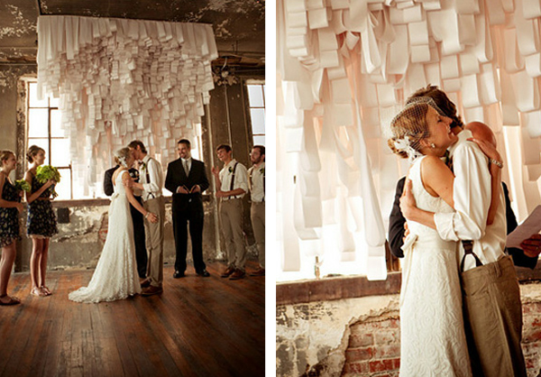 These Indoor Ceremony Backdrops Will Make You Pray For: A Backdrop For You Wedding Ceremony Lucysaysido