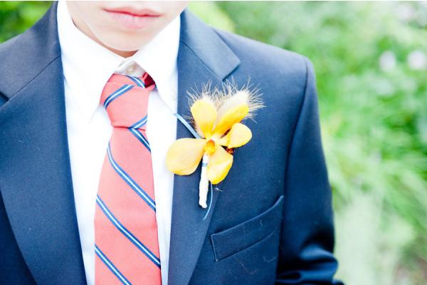 Wedding ideas - beautiful buttonholes
