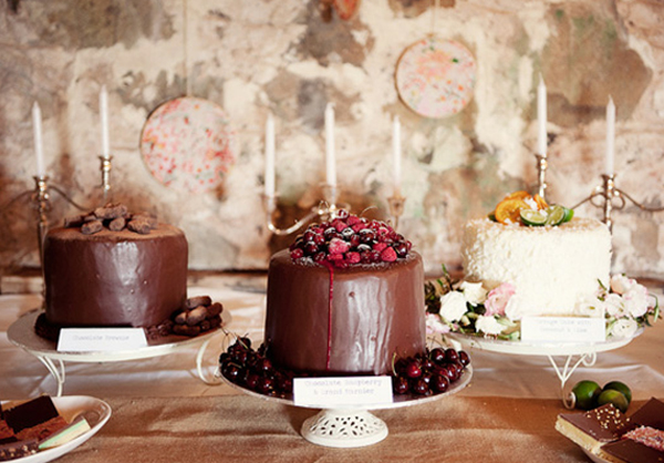seriously delicious looking chocolate wedding cake_feat