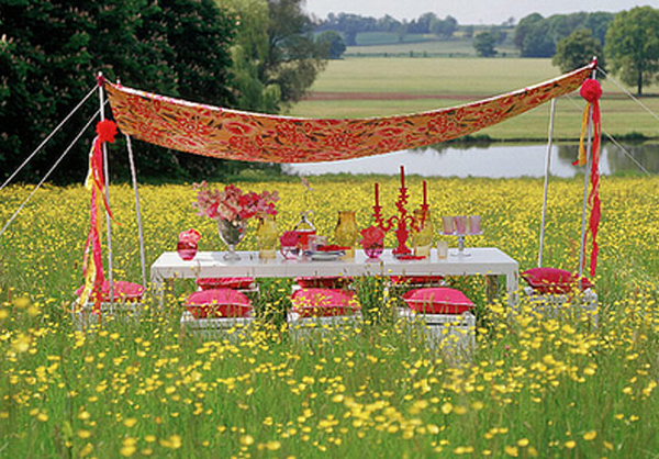 Wedding Ideas Intimate Garden Party