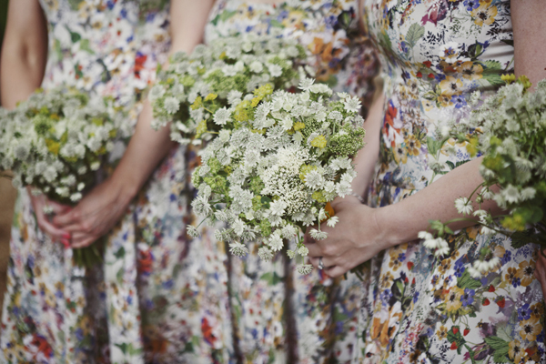 patterned floral bridesmaids dresses lucysaysido