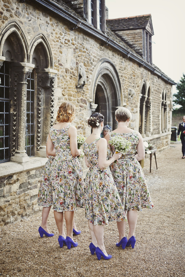 floral patterned bridesmaids dresses feminine lucysaysido