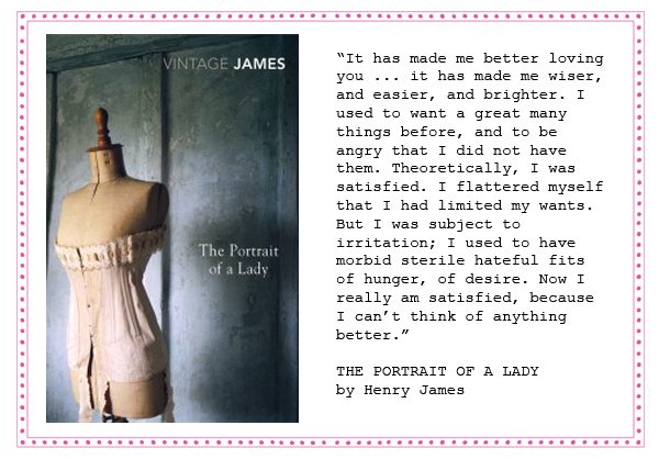 wedding vows and readings Henry james