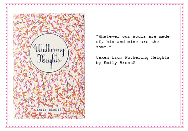 wedding vows and readings emily bronte