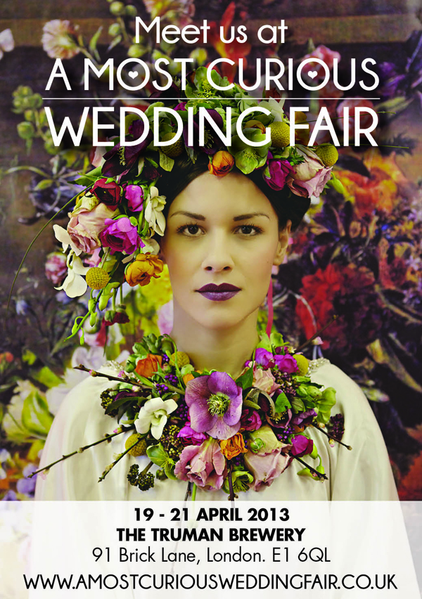 Meet Lucy says I do at A Most Curious Wedding Fair