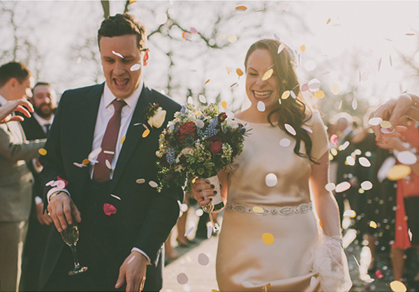 Ruth and Joe London Wedding Nabeels camera and Lucy says I do design and styling feat image