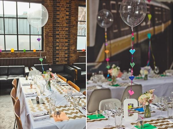 weddings with balloons ideas london wedding table balloons lucysaysido