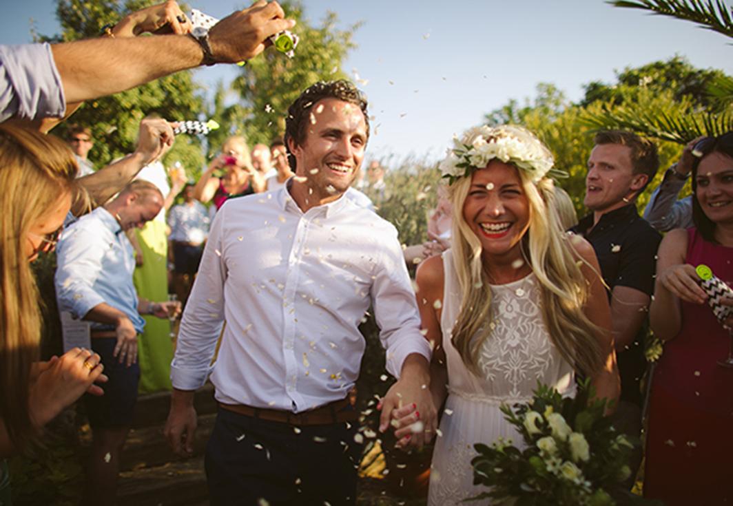 Nicky and Ben wedding southern spain casa la siesta Lucy says I do bespoke design