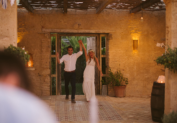 Nicky and Ben wedding southern spain casa la siesta Lucy says I do bespoke design