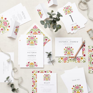 Lucy says I do LATF signature wedding stationery