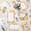 Lucy says I do ruby bright wedding stationery