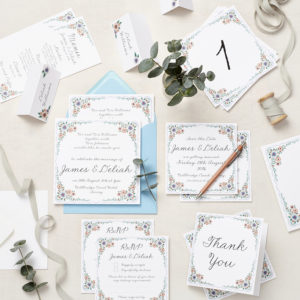 Lucy says I do english summer garden wedding stationery